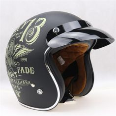 Motorcycle Helmets, Riding Helmets, Harley Style, Open Face Helmets, Motorbikes, Collections, Retro, Free, Products