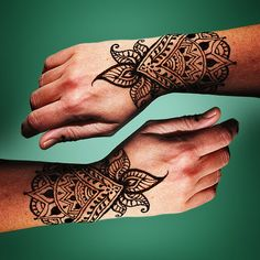 20 Beautiful Pictures of Henna Tattoos