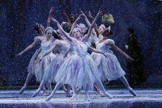 the snowflakes in Joffrey Ballet's 'The Nutcracker'