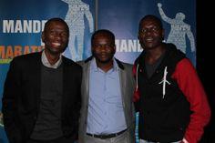 #MandelaMarathon @LezMoeti w #Ambassadors @MakhosiKhoza1 @AlexMthiyane #Redlands #PMB