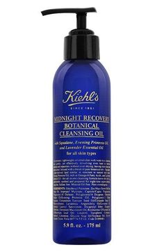 Free shipping and returns on Kiehl's Since 1851 'Midnight Recovery' Botanical Cleansing Oil at Nordstrom.com. What it is: A lightweight oil that emulsifies with water to a cleansing milk to gently yet effectively dissolve even the hardest-to-remove makeup and impurities without overdying, leaving skin clean and replenished.Who it's for: All skin types.What it does: Enriched with an aromatic blend of pure botanical oils including squalane, a plant-derived lipid with a natural affinity for…