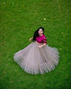 Dresses - Best Bridal Lehenga designs this wedding season! Lehenga Choli Designs, Long Gown Dress, Lehnga Dress, Indian Lehenga, Net Lehenga, Lehenga Skirt, Kids Lehenga, Indian Wedding Outfits, Indian Outfits
