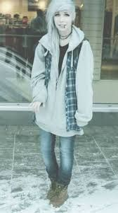 winter, silver hair, sweet