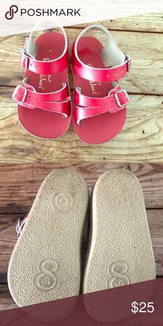 fe2eef02ad2b Salt Water Girls Sandals Super comfortable Salt Water Nordstrom sandals in  hot pi…