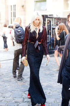 Fashion Week Street Style: Abbey Lee Kershaw | The Front Row View