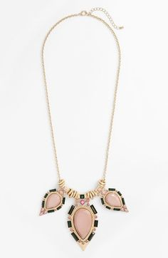 Cara Tear Drop Statement Necklace on shopstyle.com
