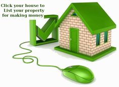 Click your house to list your property for making money.