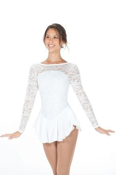 dress also looks awesome in white