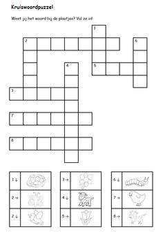 Kruiswoordpuzzel [juf-milou.nl]