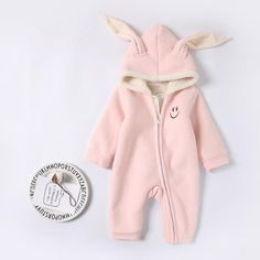 Cozy Baby JumpsuitGender: UnisexClosure Type: ZipperFit: Fits true to size, take your normal sizeCollar: HoodedMaterial: CottonPattern Type: AnimalMaterial Composition: Thicken LiningSuitable Ages: Thicken Lining Baby Romper Baby Sleepers, Baby Jumpsuit, Baby Rompers, Baby Outfits Newborn, Cute Babies, Onesies, Cozy, Fashion, Baby Overalls