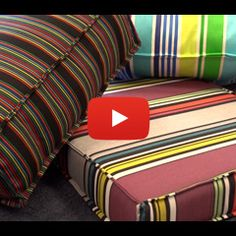 Refinishing your patio furniture.  How to make a french mattress style cushion video.  How-To Videos & Instructions – Sailrite