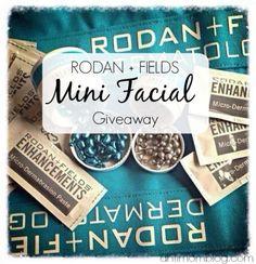 Rodan + Fields Mini Facial #Giveaway | The Anti Mom Blog