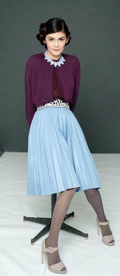 Audrey Tautou - great colours