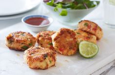 Chilli crabcakes | Tesco Real Food