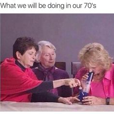 What the fuck else do you got to do when you are 80? That's right, relax and smoke some weed and bake some cookies...