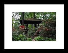 toledo, ohio, botanical, garden, gazebo, nature