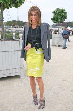 I need every pencil skirt Carine Roitfeld owns!!! Love!!!!!!