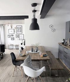 48 Fabulous Scandinavian Dining Room Design Ideas That Looks Cool. Now it is easy to dine in style with traditional Swedish dining chairs. Entertain friends as well as show off your wonderful Swedish . Decor, Dining Room Design, Scandinavian Dining Room, Home And Living, Interior, Dining Room Decor, Home Decor, House Interior, Dining