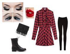 """""""Redy for Anything"""" by lissy-1027 on Polyvore featuring RED Valentino, Topshop, Oasis and Charlotte Tilbury"""