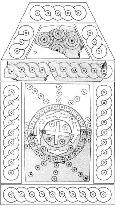 West Slavs | Christianisierung for Archaologie Der Westlichen Slawen | Abb.97. Rekonstruktion des älteren Reliquienkastens von Starigard/Oldenburg (9. Jahrhun-dert). Die gesamte Oberfläche war mit Beinschnitzereien bedeckt. – M. 1:1,4 (nach Starigard/Oldenburg [Nr. 311a] 286 Abb.5