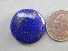 26x26 mm Attractive Lapis Lazuli Cabochon Gemstone by KGNSHOP