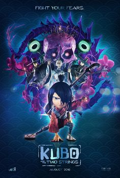 Kubo and the Two Strings posters by Jeff Aguila. See more on his blog, here: http://jagdesign.graphics/new-blog/2016/8/19/kubo-and-the-two-strings-comps