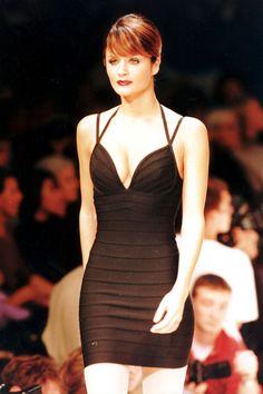 1993 - Dressed in Hervé Léger