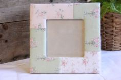 Rachel Ashwell Simply Shabby Chic Cottage Roses Picture Frame RETIRED