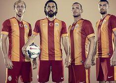 Galatasaray SK 2014/15 Nike Home and Away Kits