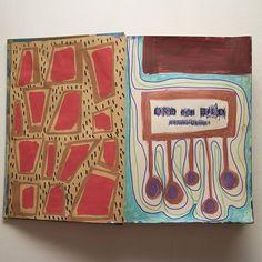3-4  #artistbook #artist #art #contemporary #contemporaryart #instagallery #kunst #arte #konst #sketchbook #book #painting #illustration #doodle #weird #modernart #lowbrow #lowbrowart #instaart #instaartist #artoninstagram #marker #paintmarker #posca #stabilo