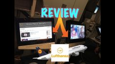 My First Tablet Review 35,000ft High || Lufthansa
