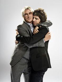 Paul Weller (The Jam, Style Council) & Noel Gallagher (Oasis) - London 2006 // Søren Solkær Music Love, Rock Music, My Music, Indie Music, Music Lyrics, Music Stuff, Noel Gallagher, Hugs, Liam And Noel