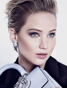 Jennifer Lawrence for Dior, courtesy of Dior