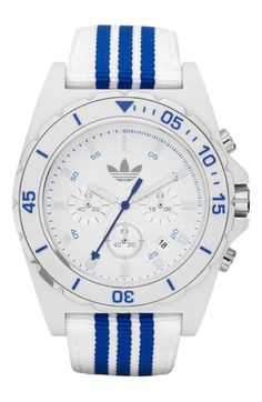 adidas 'Stockholm' Nylon Strap Watch available at Nordstrom