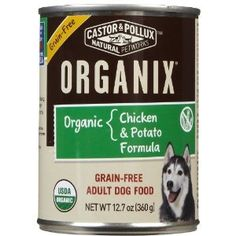 Dogs: Organix GF Can Dog Food Chicken/Potato « DogSiteWorld-Store