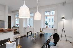 Черно-белая квартира в Швеции, 104 кв.м.