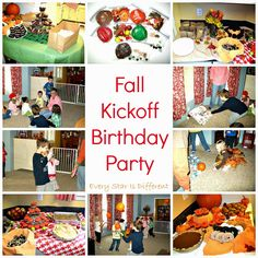 Every Star Is Different: Fall Kickoff Birthday Party