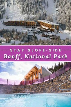 Because all of Banff's ski resorts lie within the National Park, you won't find asmany facilites disrupting the pristine environment. But there is one, on-mountain ski resort hotel - Sunshine Mountain Lodge and a stay here is pretty awesome! #SunshineMountainLodge #SunshineVillage #Banff #BanffCanada #BanffNationalPark#BanffCanadaWinter #SkiHotelsCanada #SkiResortsInCanada #BanffHotels #WhereToStayin Banff Hotel Sunshine, Sunshine Village, Us National Parks, Banff National Park, Ski Resorts, Hotels And Resorts, Canada Travel, Travel Usa, Travel Couple