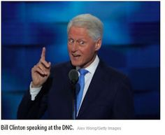 Welcome to Solenzo blog: Bill Clinton's message to the Democratic convention: My wife is a progressive and a human