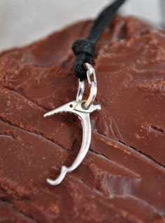 Climbing Carabiner and Ice Tool Sterling Silver Jewelry Ice climbing