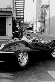 The ride. #SteveMcQueen Just saw this car on Jay Leno's garage web channel. Wow what a cool car BIG $$$$