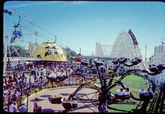 Bell's Amusement Park, Tulsa Ok. This was such a part of my childhood memories. So sad it was torn down.