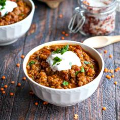 Mexican Red Lentils