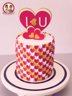 I <3 U - Cake by Un Jeu d'Enfant - Cake Design