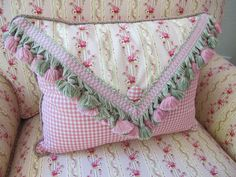 Shabby envelope pillow
