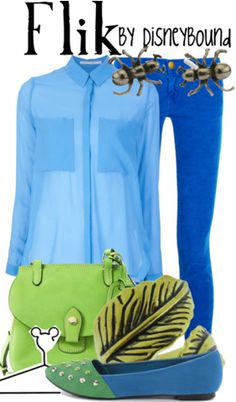 Flik from A Bug's Like inspired outfit by DisneyBound