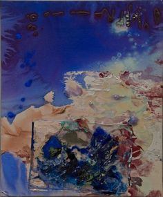 Susan Roth  Stormy Weather, 2009  Acrylic and acrylic skin on canvas  26 1/2 x 22 inches