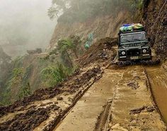 Land Rover Defender...Going where no one else can.