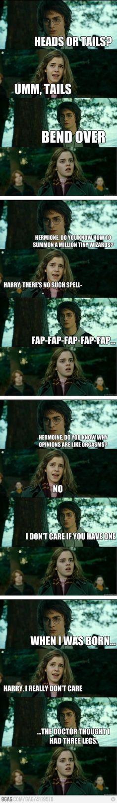 Horny Harry Potter