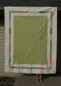love this quilt back (and fabric!)